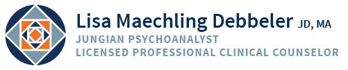 Lisa Maechling Debbeler, JD, MA; Licensed Professional Clinical Counselor Logo